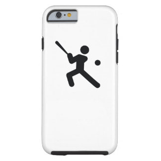 BASEBALL | cool sport icon Tough iPhone 6 Case