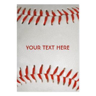 Baseball custom business cards