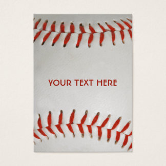 Baseball custom business cards