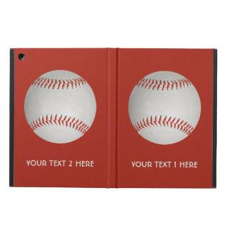 Baseball custom cases iPad air case