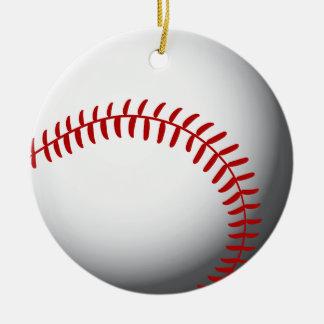 Baseball Custom Christmas Ornament