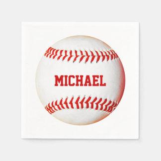 Baseball Custom Napkins Disposable Serviette