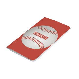 Baseball custom pocket journal