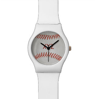Baseball custom watches