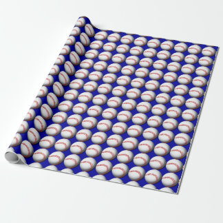 Baseball Custom Wrapping Paper
