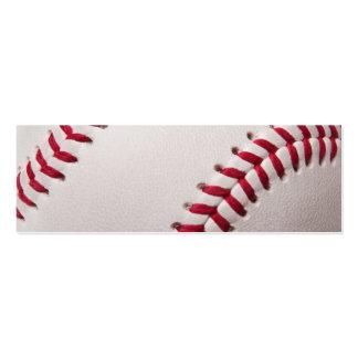 Baseball - Customized Business Card