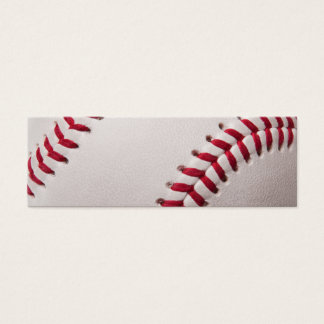 Baseball - Customized Mini Business Card