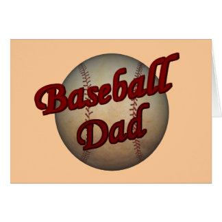 Baseball Dad Card