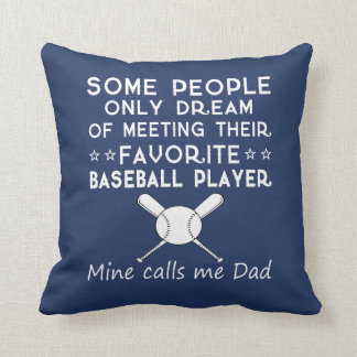 BASEBALL DAD CUSHION