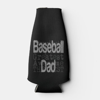 Baseball Dad Extraordinaire Bottle Cooler