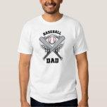Baseball Dad Fathers Day Tshirts
