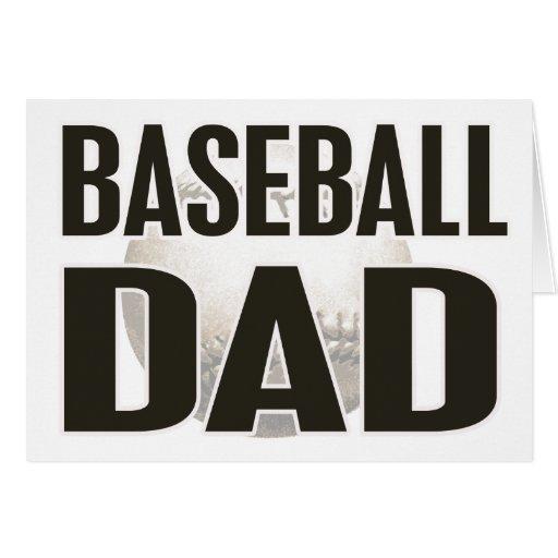 Baseball Dad Gifts Cards