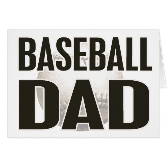 Baseball Dad Gifts Card