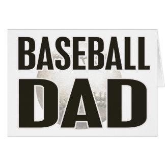 Baseball Dad Gifts Greeting Card