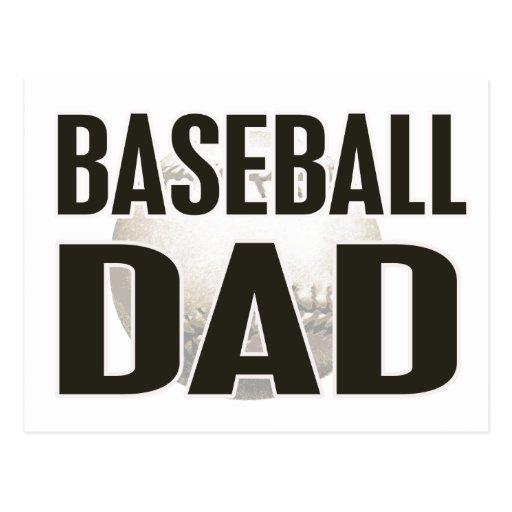 Baseball Dad Gifts Post Card