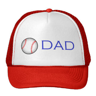 Baseball Dad Trucker Hats
