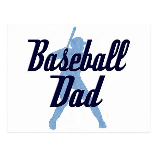 Baseball Dad Post Cards