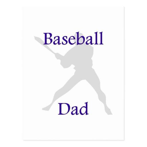Baseball Dad Post Card