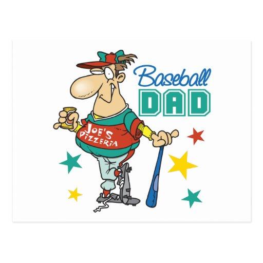Baseball Dad Postcards