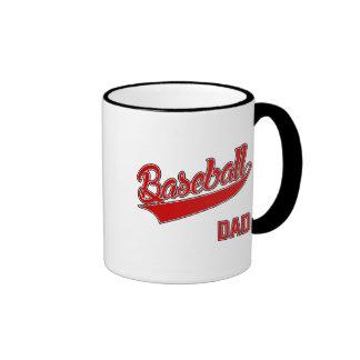 Baseball Dad Ringer Mug