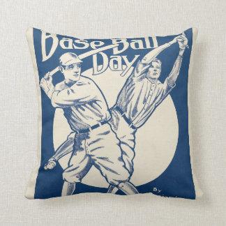 Baseball Days Cushion