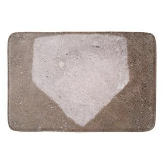 Baseball Decor Ideas Bath Mat