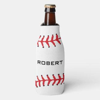 Baseball Design Bottle Cooler