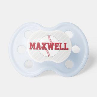 Baseball Design | Custom Baby Pacifier