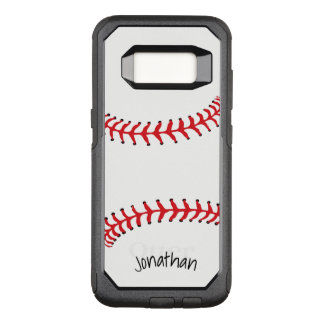 Baseball Design Otter Box OtterBox Commuter Samsung Galaxy S8 Case