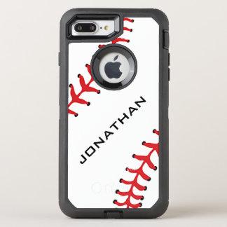 Baseball Design Otter Box OtterBox Defender iPhone 7 Plus Case