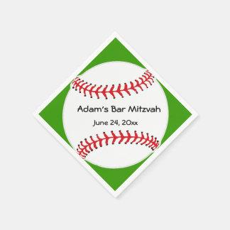Baseball Design Paper Napkins