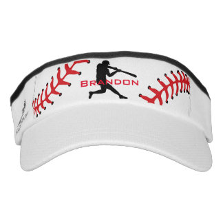 Baseball Design Sun Visor Hat