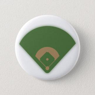 Baseball Diamond: 6 Cm Round Badge