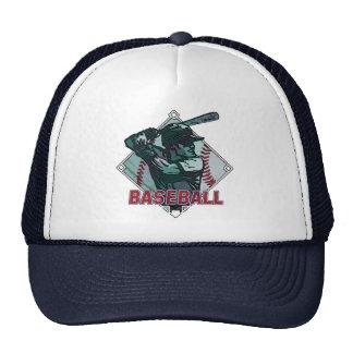 Baseball Diamond Batter Trucker Hats