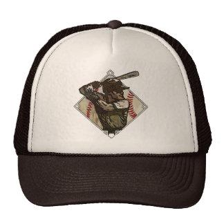 Baseball Diamond Batter Hat