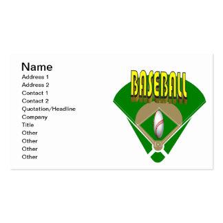 Baseball Diamond Business Cards