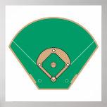 baseball diamond field