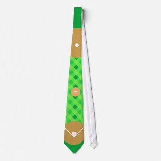 Baseball Diamond Tie