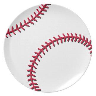 Baseball Dinner Plates
