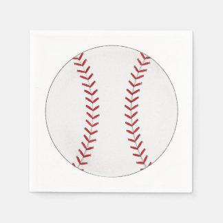 Baseball Disposable Serviette