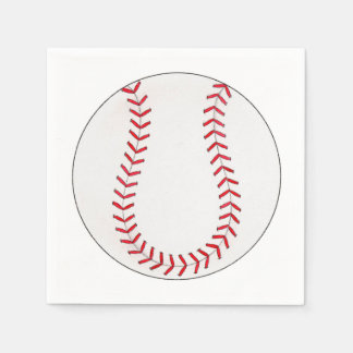 Baseball Disposable Serviettes