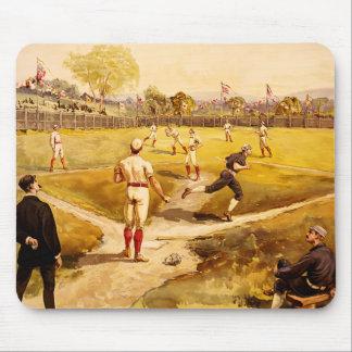 Baseball drawing mousepad