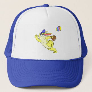 Baseball Easter Trucker Hat
