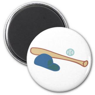 Baseball equipment equipment magnets