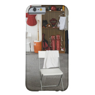 Baseball equipment in locker room barely there iPhone 6 case
