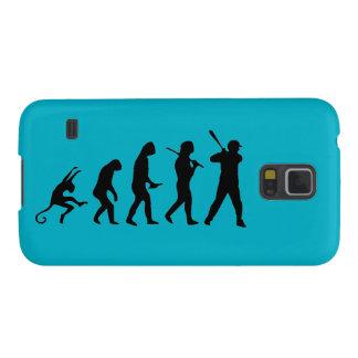 Baseball Evolution - Funny Samsung Galaxy S5 Case