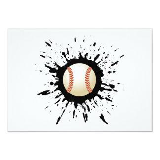 Baseball Explosion Card
