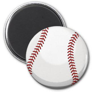 Baseball Fan 6 Cm Round Magnet