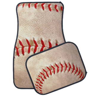 Baseball Fan Car Mat