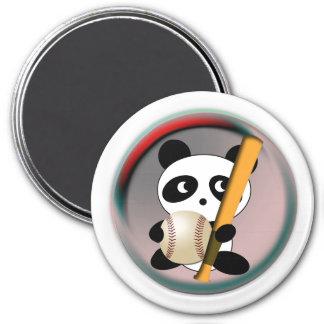 Baseball Fan Refrigerator Magnet